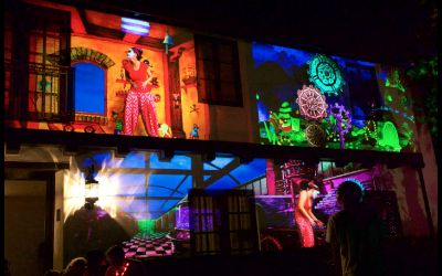 Halloween Video Mapping
